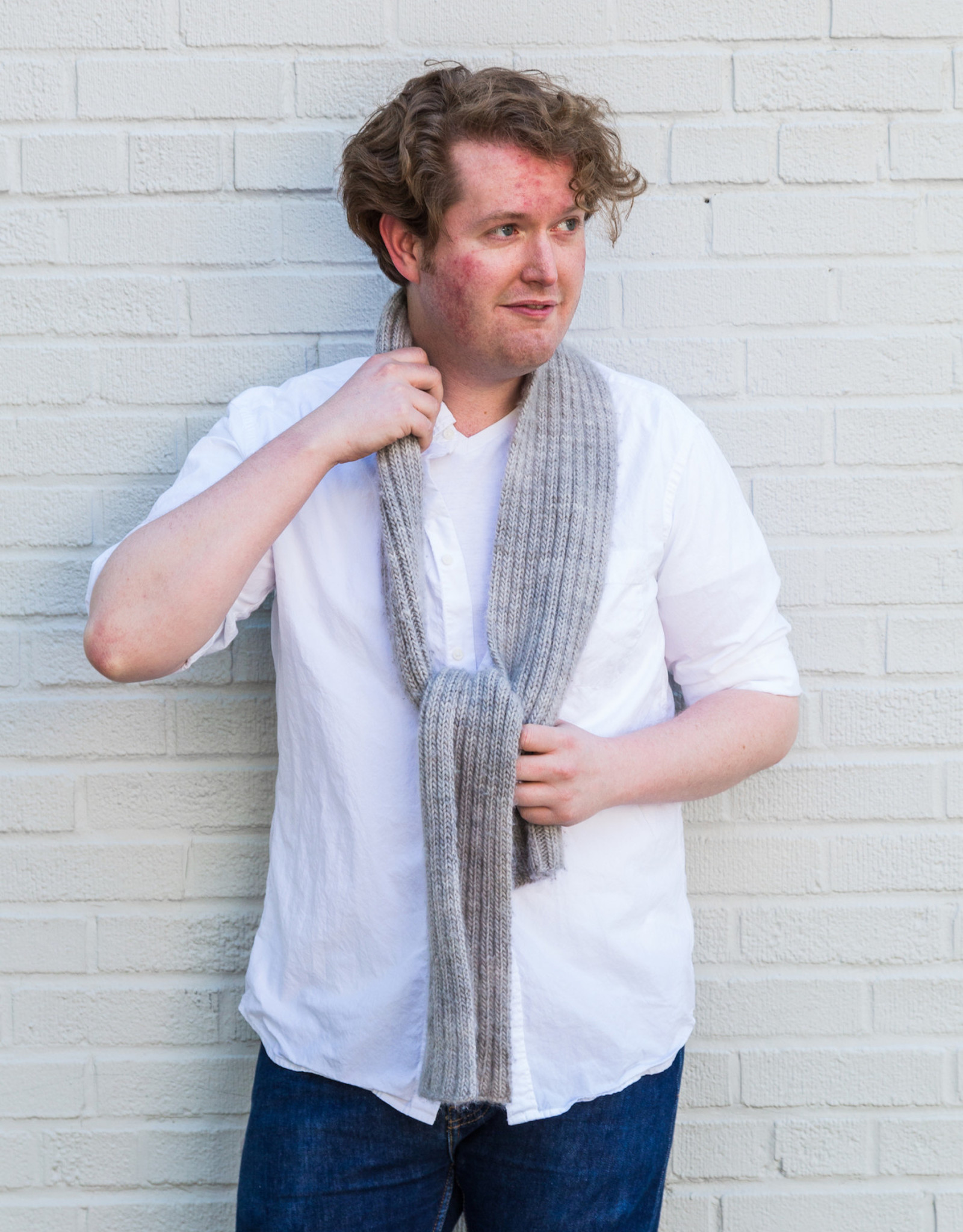 fibre space Learn to Knit Kit - Scarf