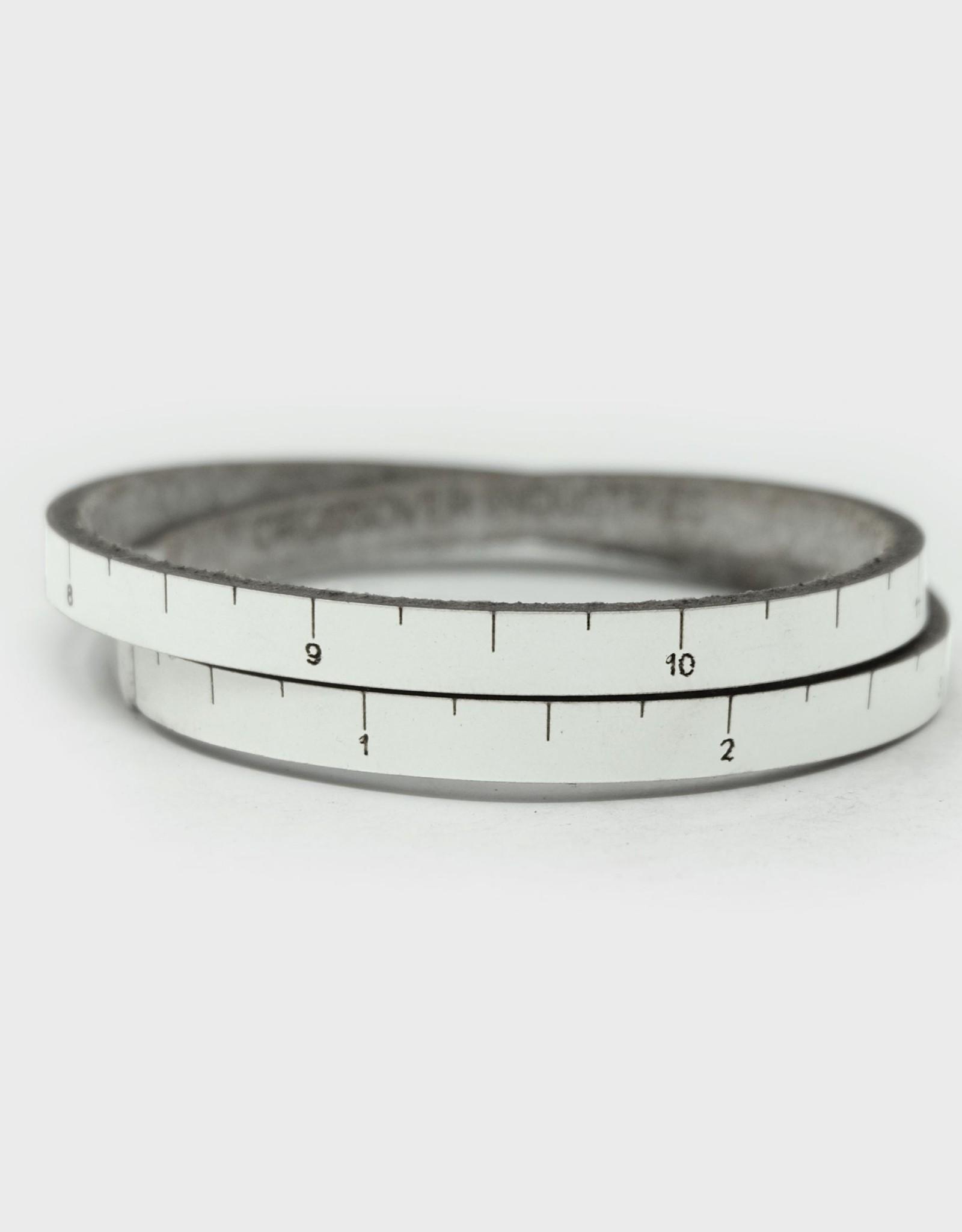 ILOVEHANDLES Thinline Wrist Ruler