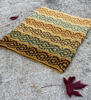Intro to Mosaic Knitting - Cowl: SA Jan 23 & 30, 2-4 pm