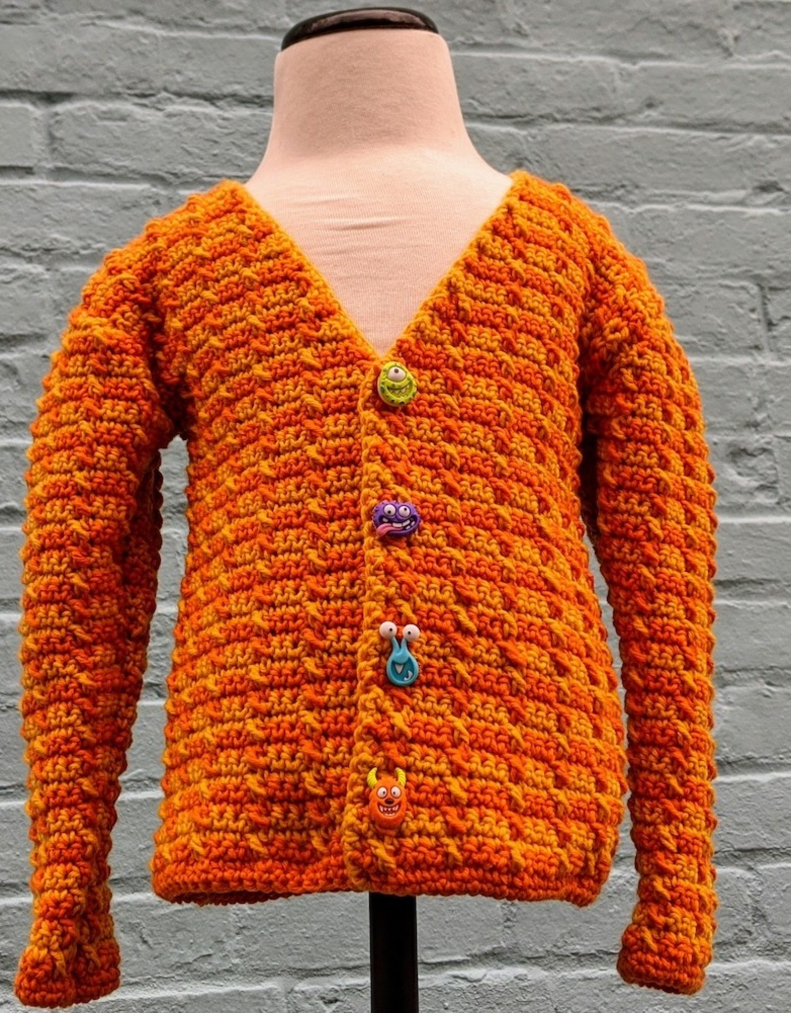 First Crochet Sweater: MO Feb 1, 8 & 15, 7-9 pm