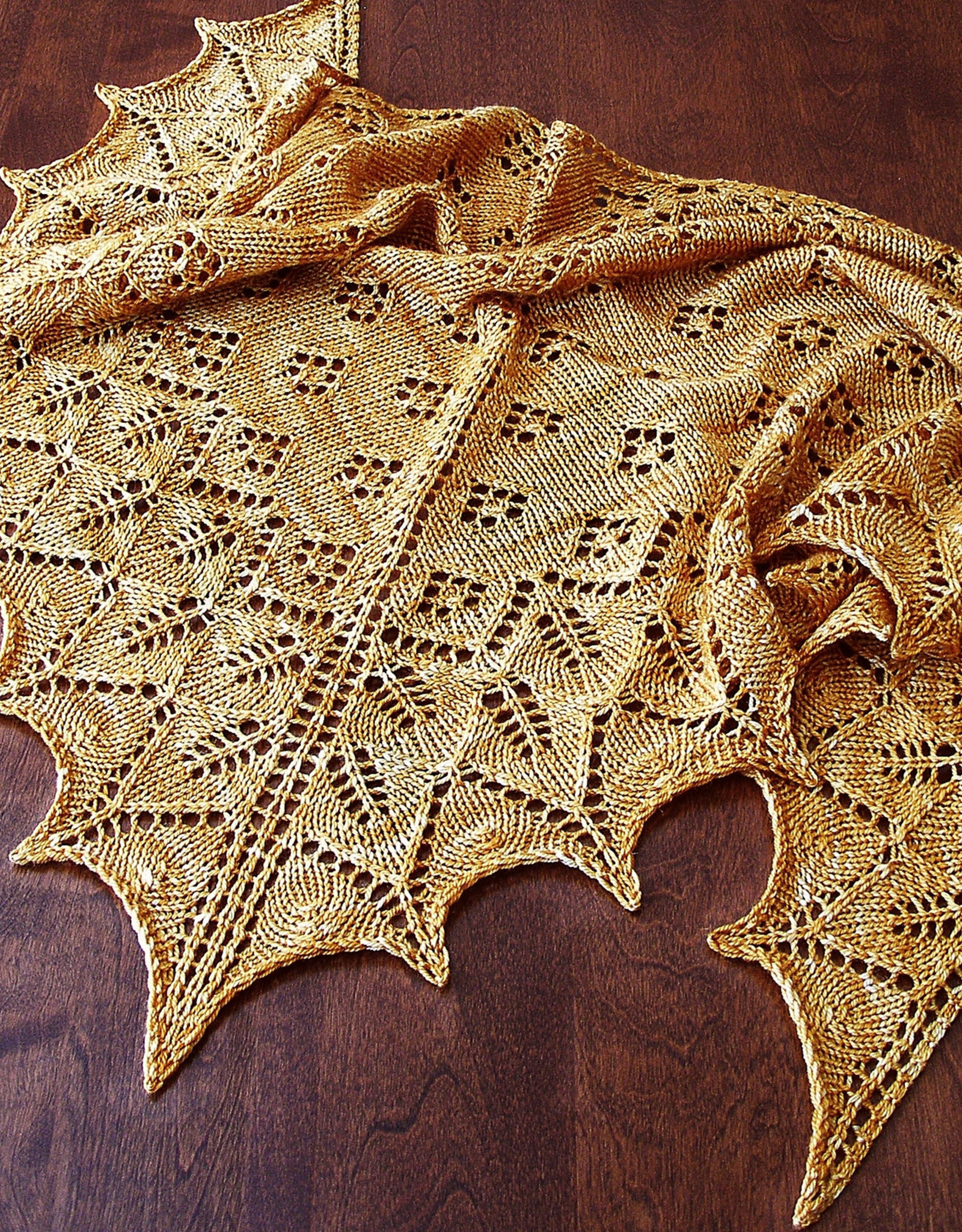 Introduction to Lace Shawls: TU Feb 2, 9 & 16, 7-9 pm