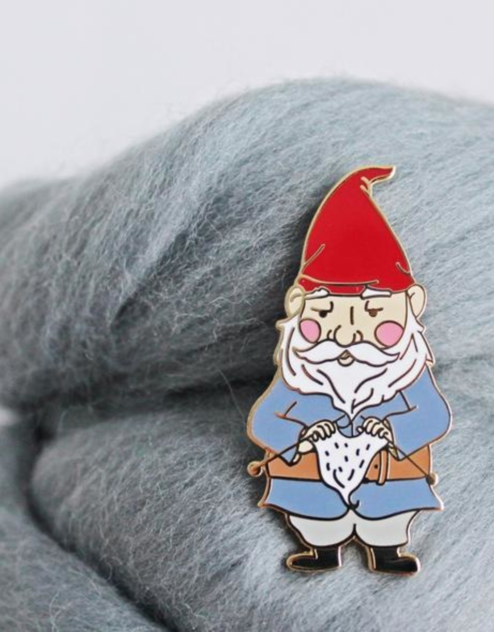 Twill&Print Knitting Gnome