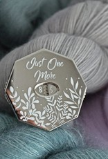 Twill&Print Just One More Row Counter-Silver
