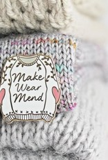 Twill&Print Make Wear Mend Enamel Pin