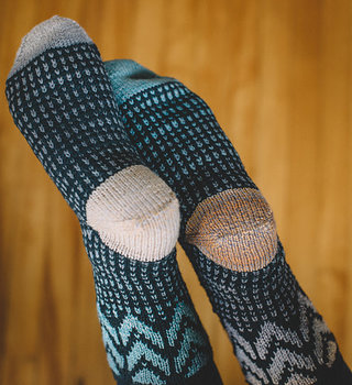 Fair Isle Socks: TU Feb 9, 16 & 23, 7-9 pm