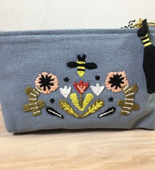 Danica Small Cotton Pouch-Frida