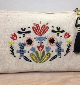 Danica Large Cotton Pouch-Frida