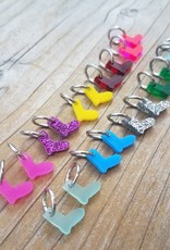 Katrinkles Acrylic Tiny Sock Stitch Marker Set
