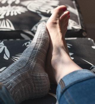 Beginner Socks - Top Down on Circs or DPNs: WE Mar 17, 24 & 31, 7-9 pm