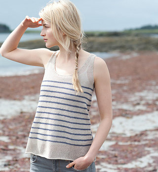Spring Striped Tank: SU Apr 11, 18 & 25, 2-4 pm