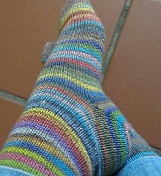 fibre space Two at a Time, Magic Loop Socks: MO Apr 12, 19 & 26, 7-9 pm