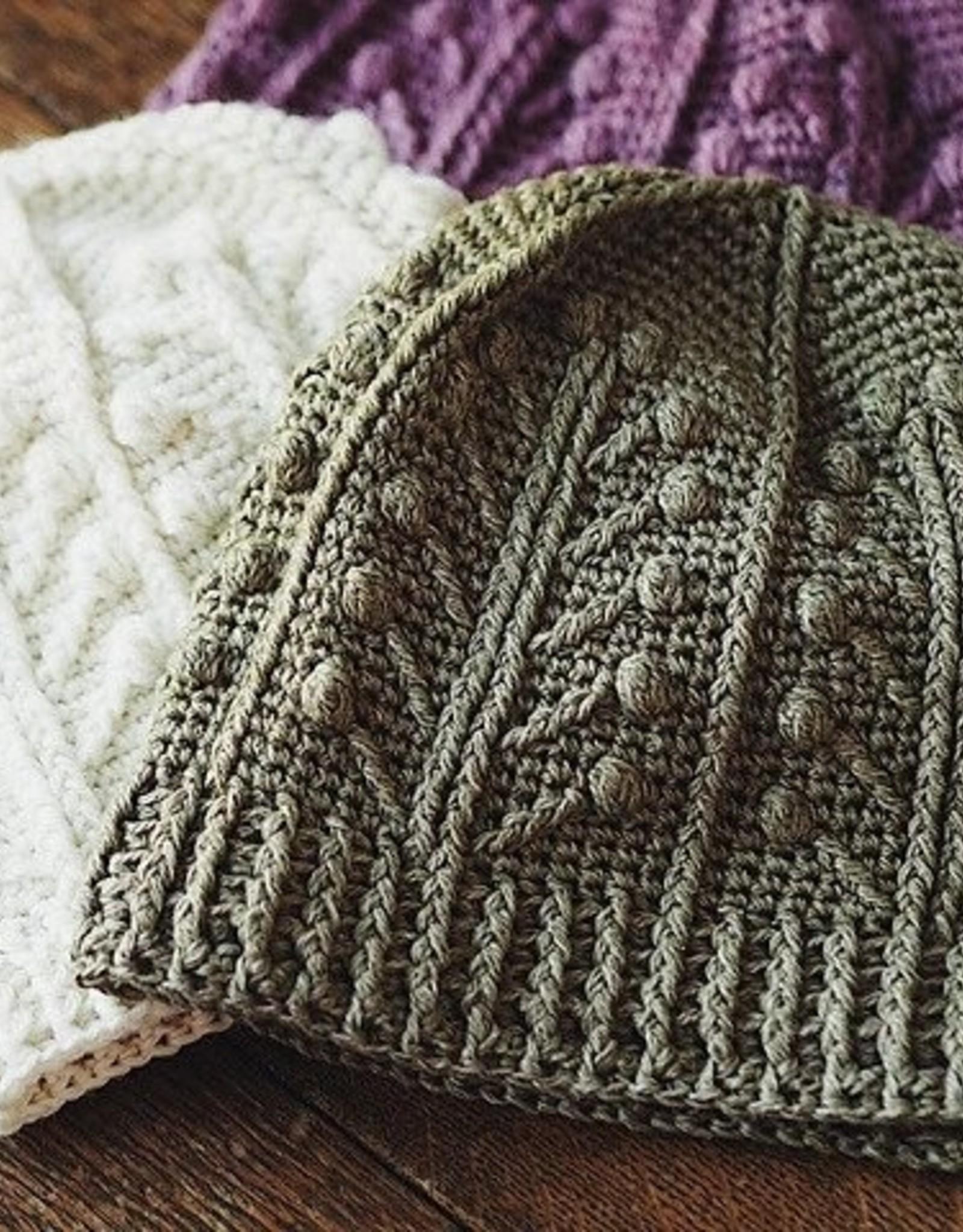 fibre space Intermediate Crochet Beanie Hat: TU Apr 20 & 27, 7-9 pm