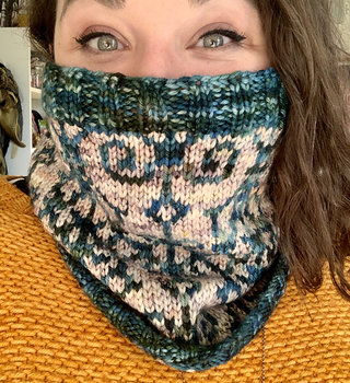 Colorwork Cowl: SA May 22 & 29, 12-2 pm