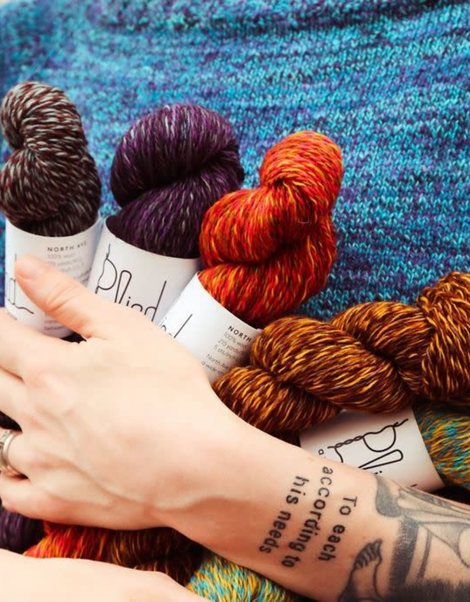 plied yarns Plied Yarns North Ave