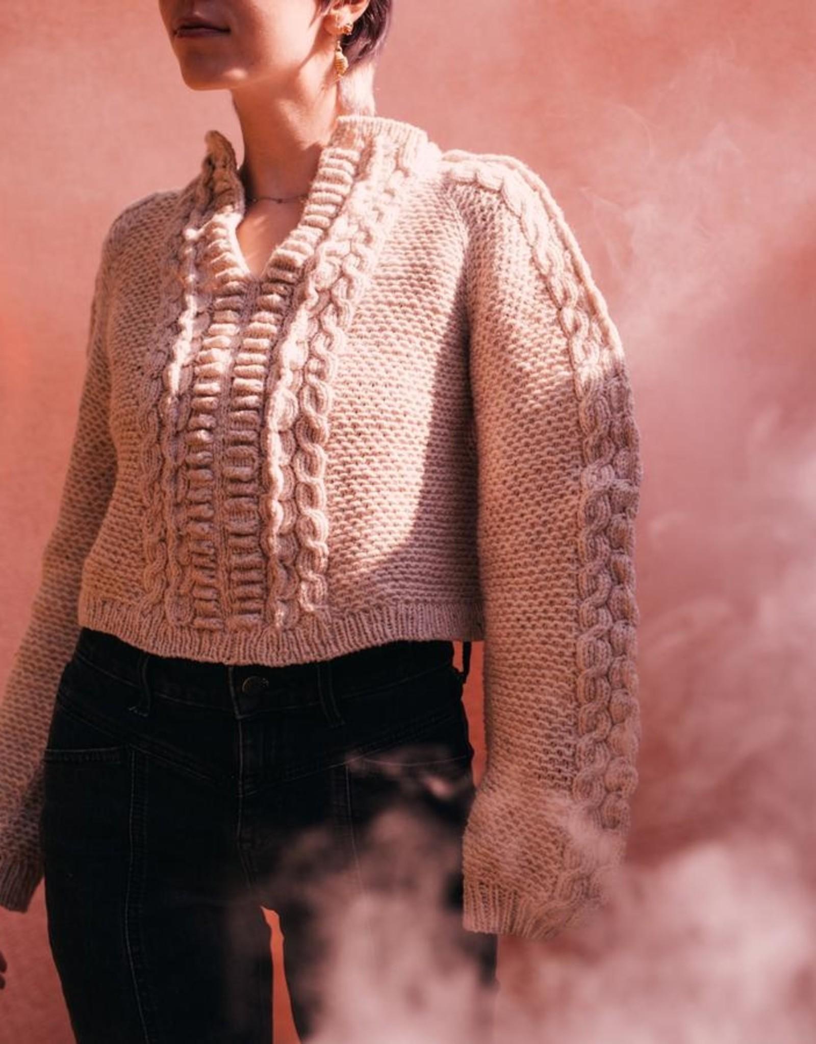 Harrisville Design Laoise Pullover Pattern