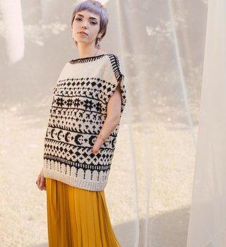 Harrisville Design Hadean Pullover Pattern
