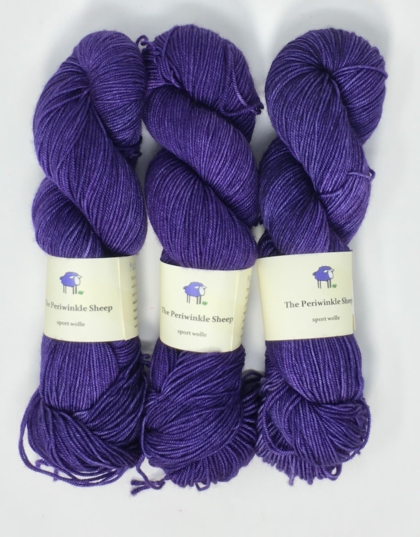 The Periwinkle Sheep The Periwinkle Sheep Sport Wolle