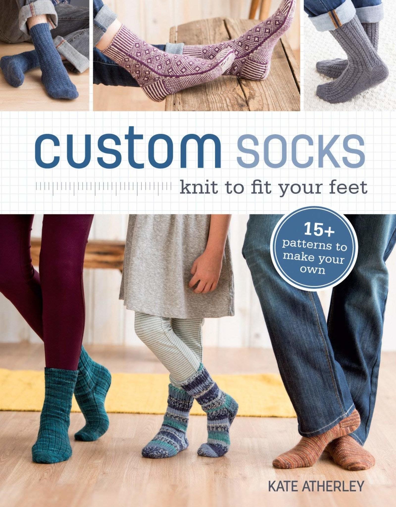 Ingram Custom Socks: knit to fit your feet