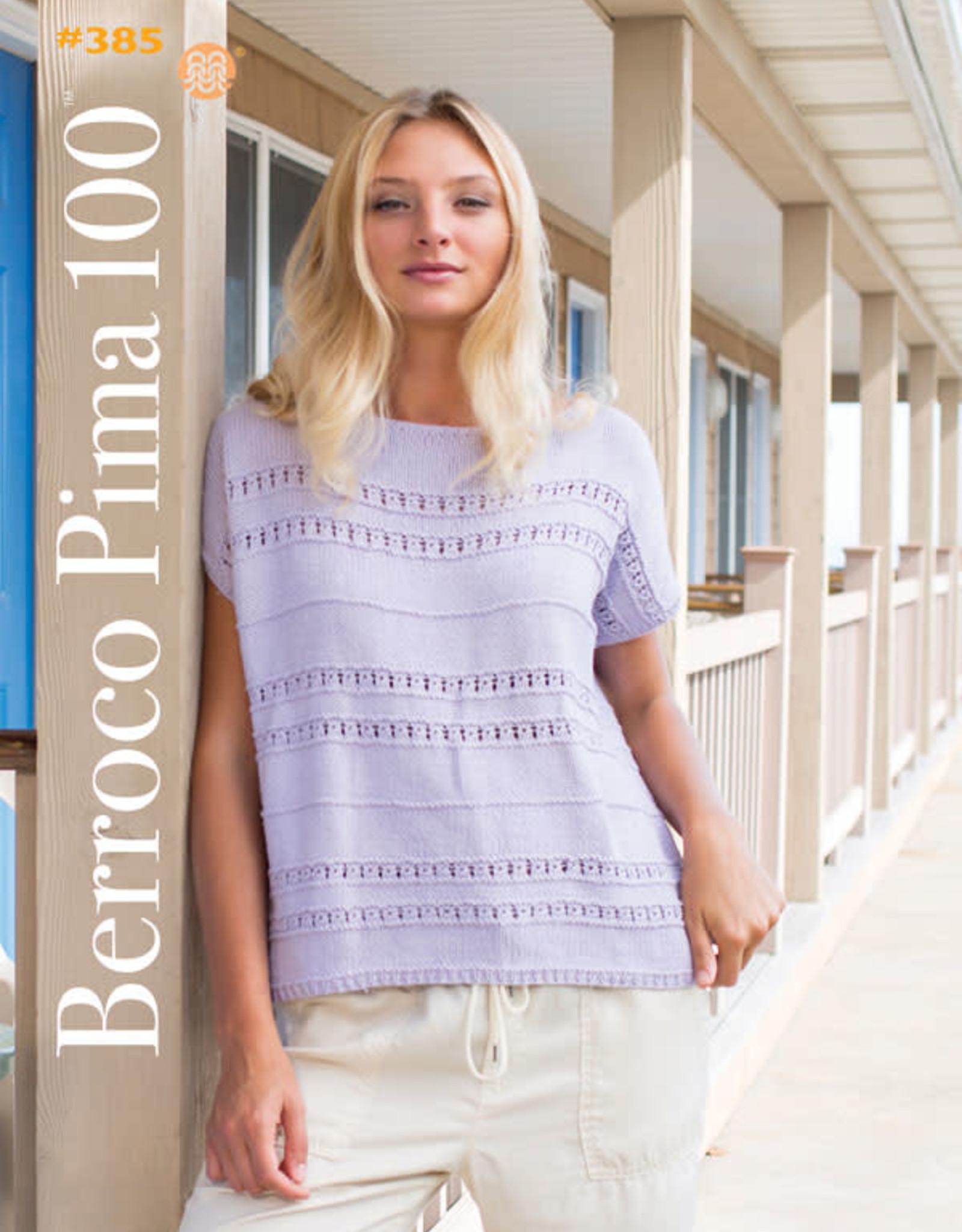 Berroco #385 Pima 100 Booklet