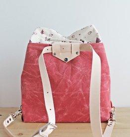 Twill&Print Mamma Bear Convertible Backpack