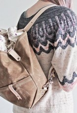 Twill&Print Mamma Bear Convertible Backpack