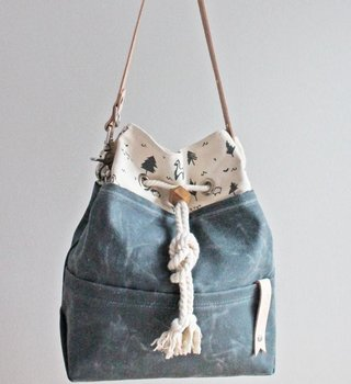 Twill&Print Twill&Print Drawstring Bag