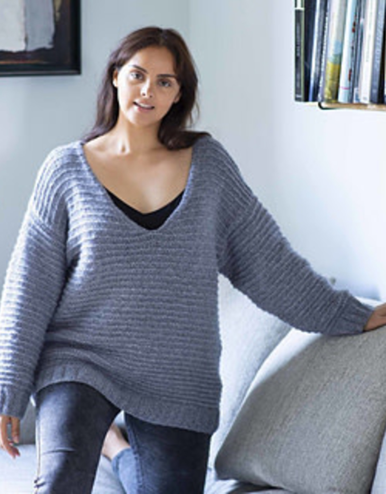 Plus Size Knits: 25 Knitting Patterns for Sweaters & Accessories