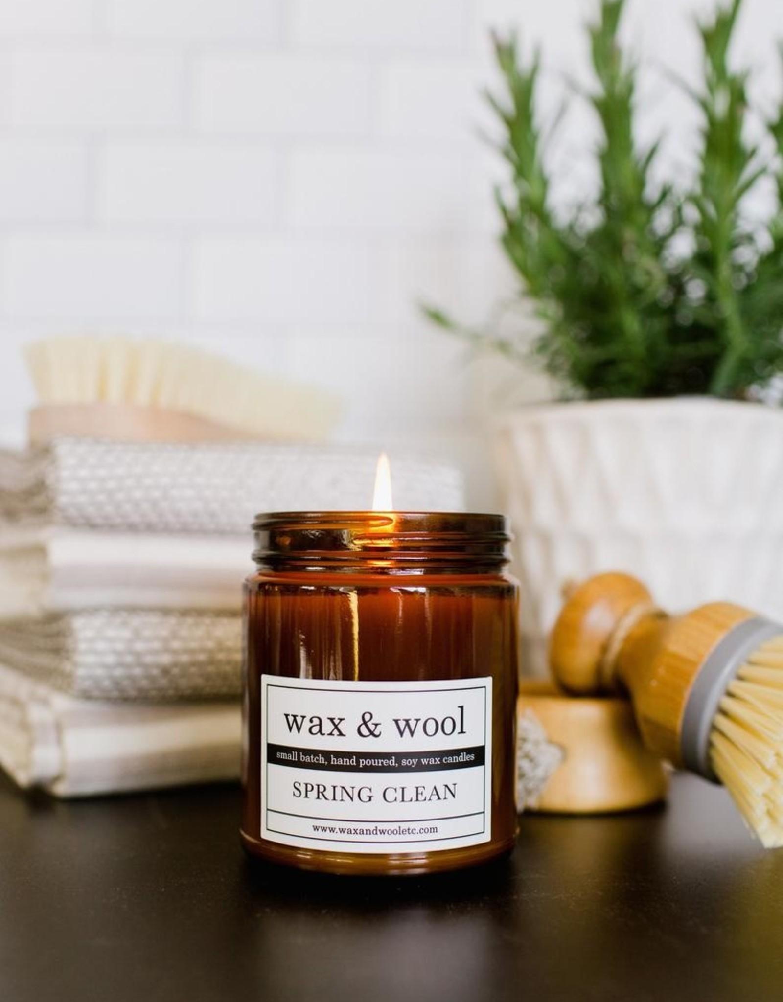 Wax & Wool Candles