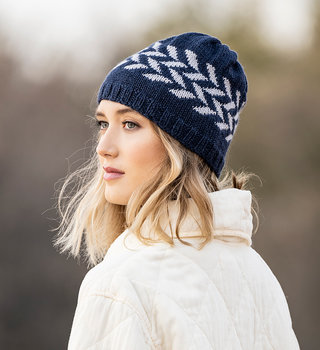 Blue Sky Fibers Hillsdale Hat in Skyland