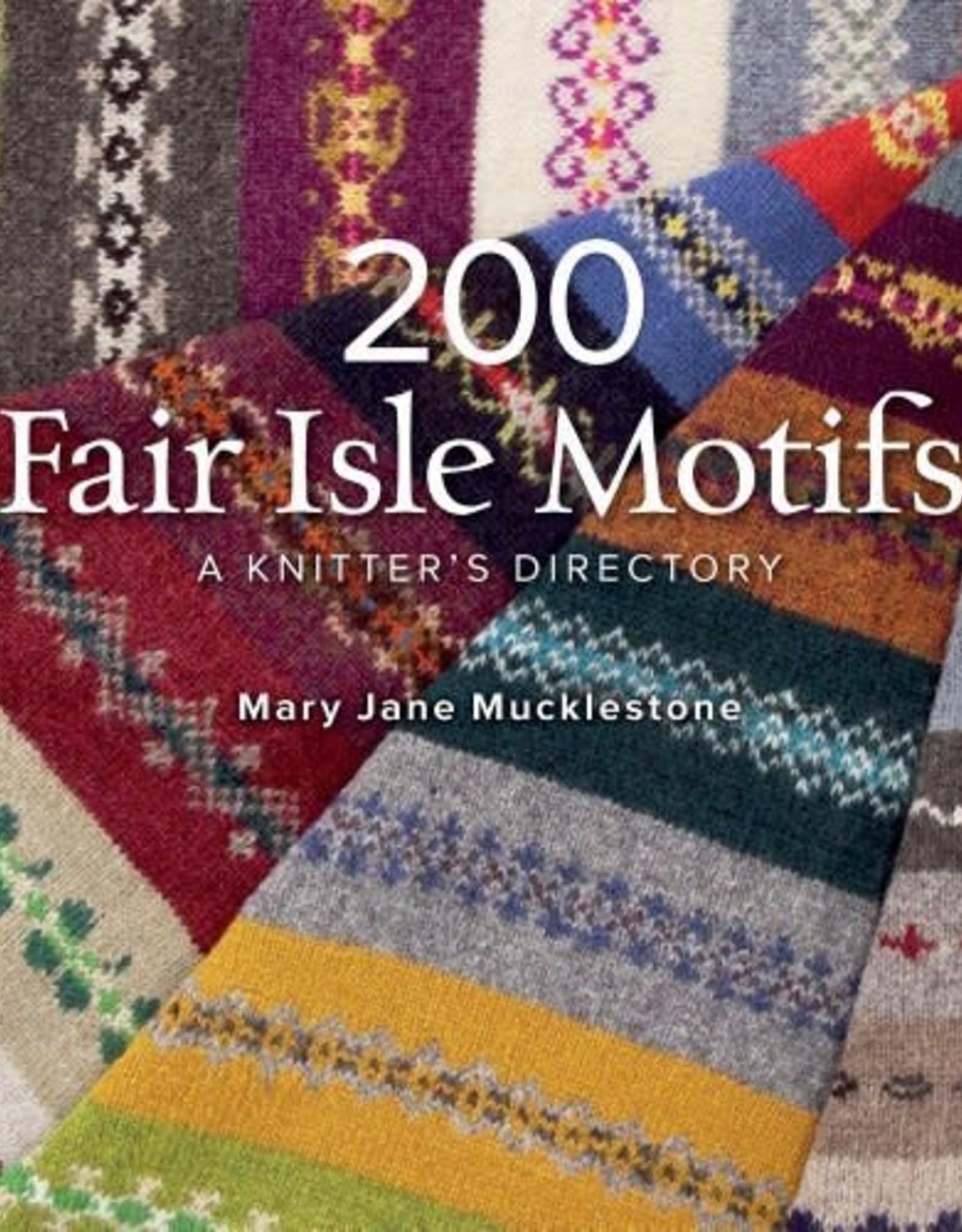 Interweave Press 200 Fair Isle Motifs