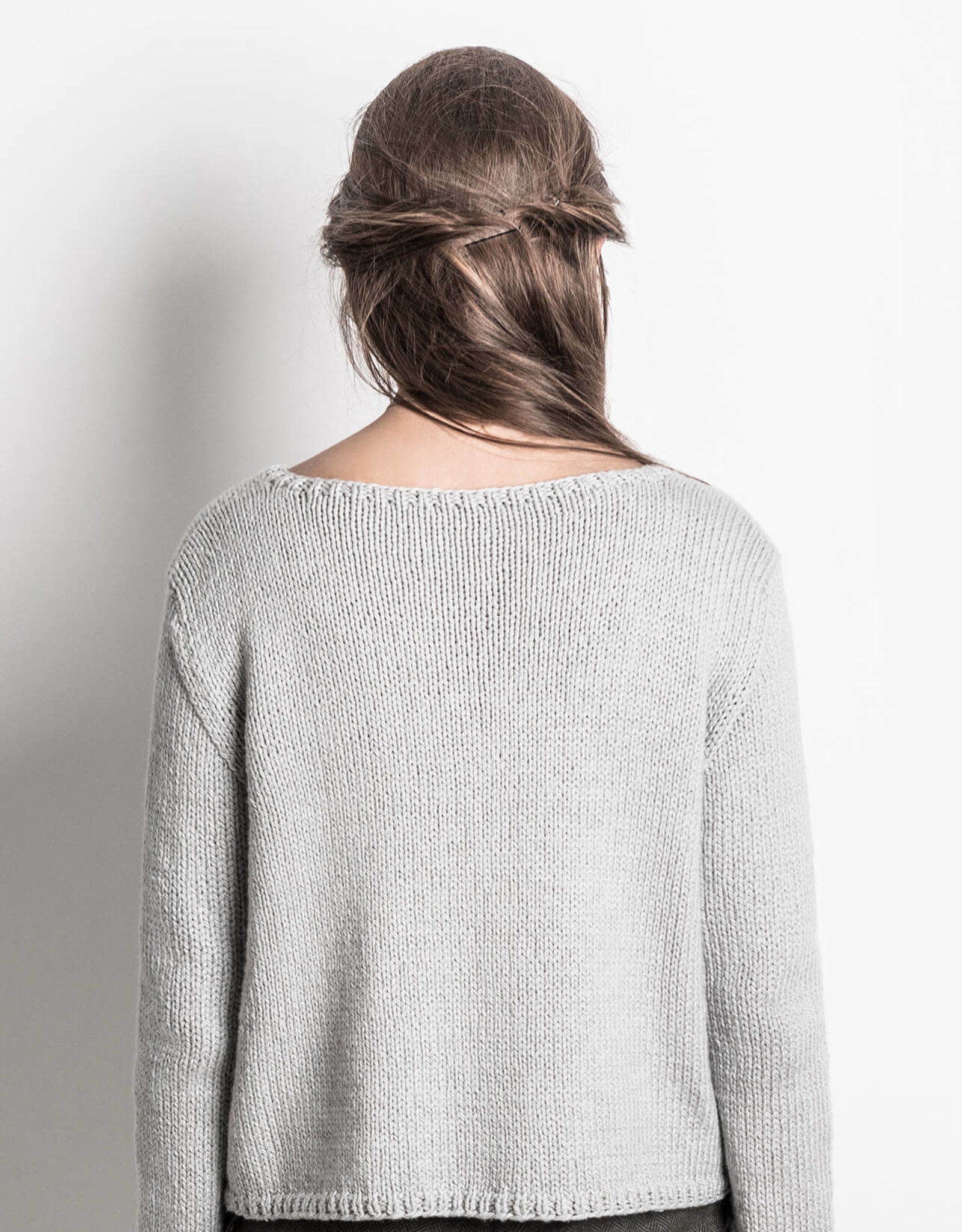 Blue Sky Fibers Spring Hill Sweater in Organic Cotton Worsted