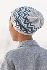 Blue Sky Fibers Springfield Chevron Hat in Woolstok