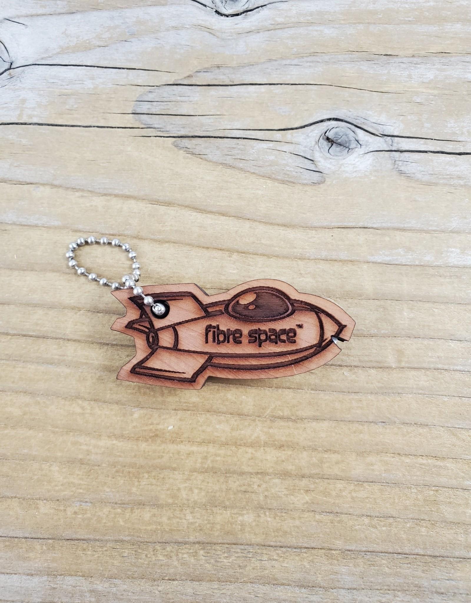 Katrinkles Rocket Ship Cedar Yarn Cutter