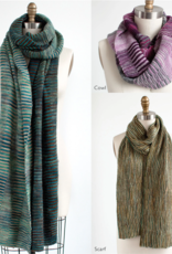 Manos Del Uruguay Sedgwick: Wrap, Cowl, or Scarf Pattern in Manos Silk Blend