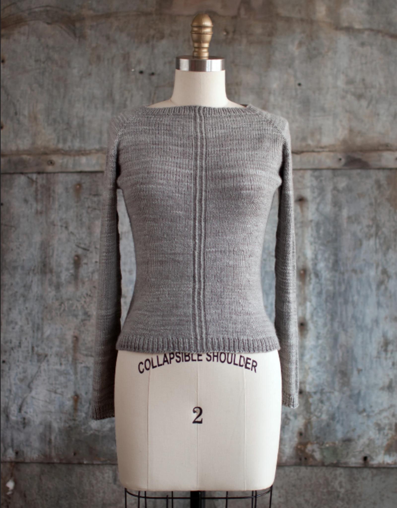 Manos Del Uruguay Eyre Sweater Pattern  in Manos Silk Blend