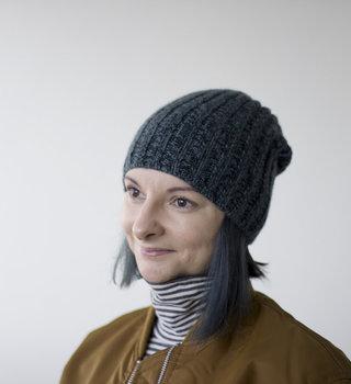 Olgajazzy Saku Hat Pattern in Woolfolk Far
