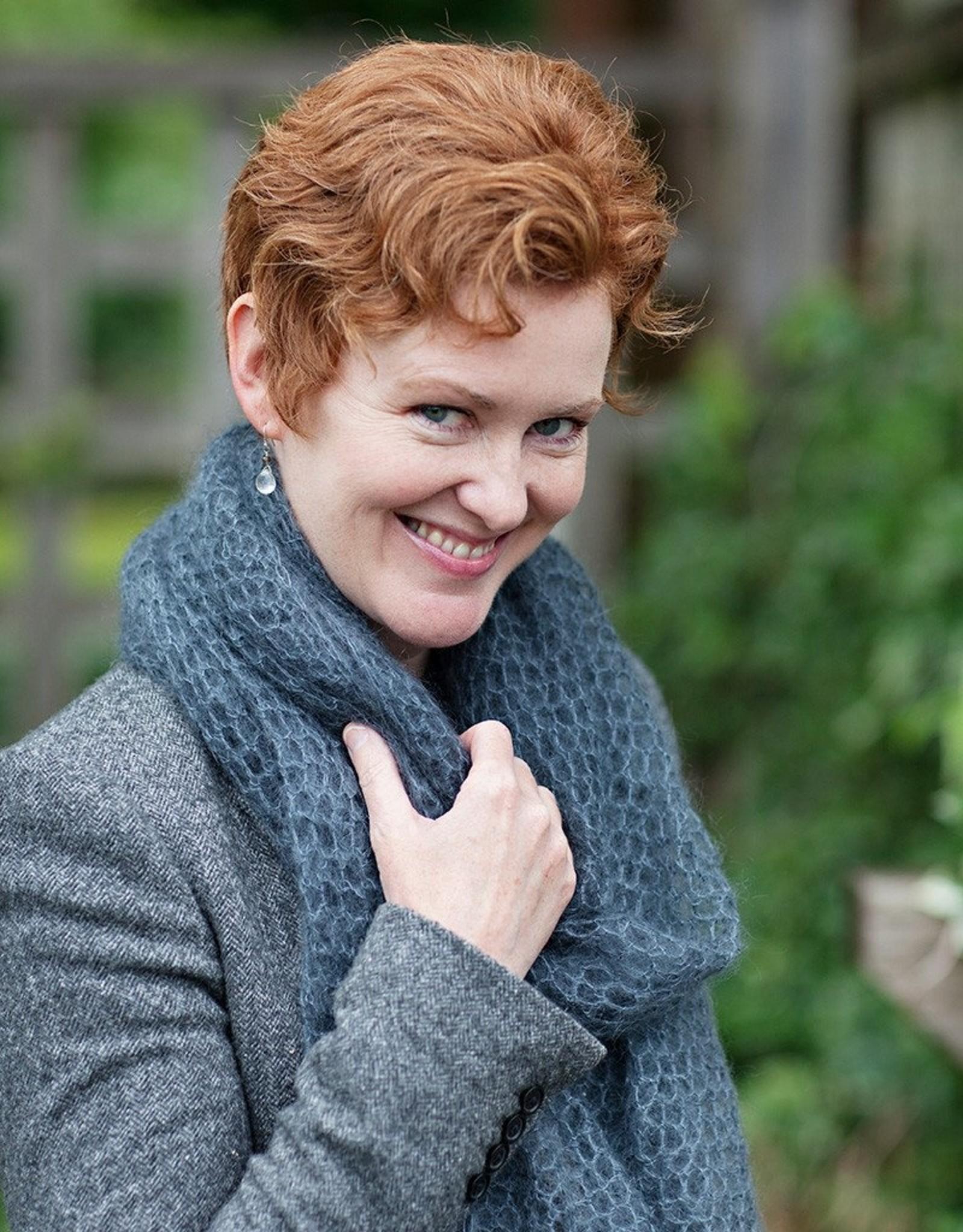 Churchmouse Churchmouse Yarns Kelly's Frothy Crocheted Scarf & Wrap Pattern