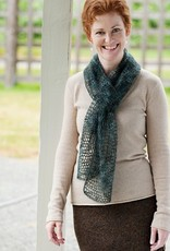 Churchmouse Yarns Kelly's Frothy Crocheted Scarf & Wrap Pattern