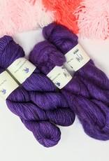 fibre space Merino and Mohair Kit- Purple