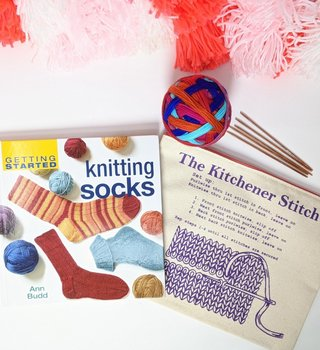 fibre space Mother's Day Start Kniting Socks Kit