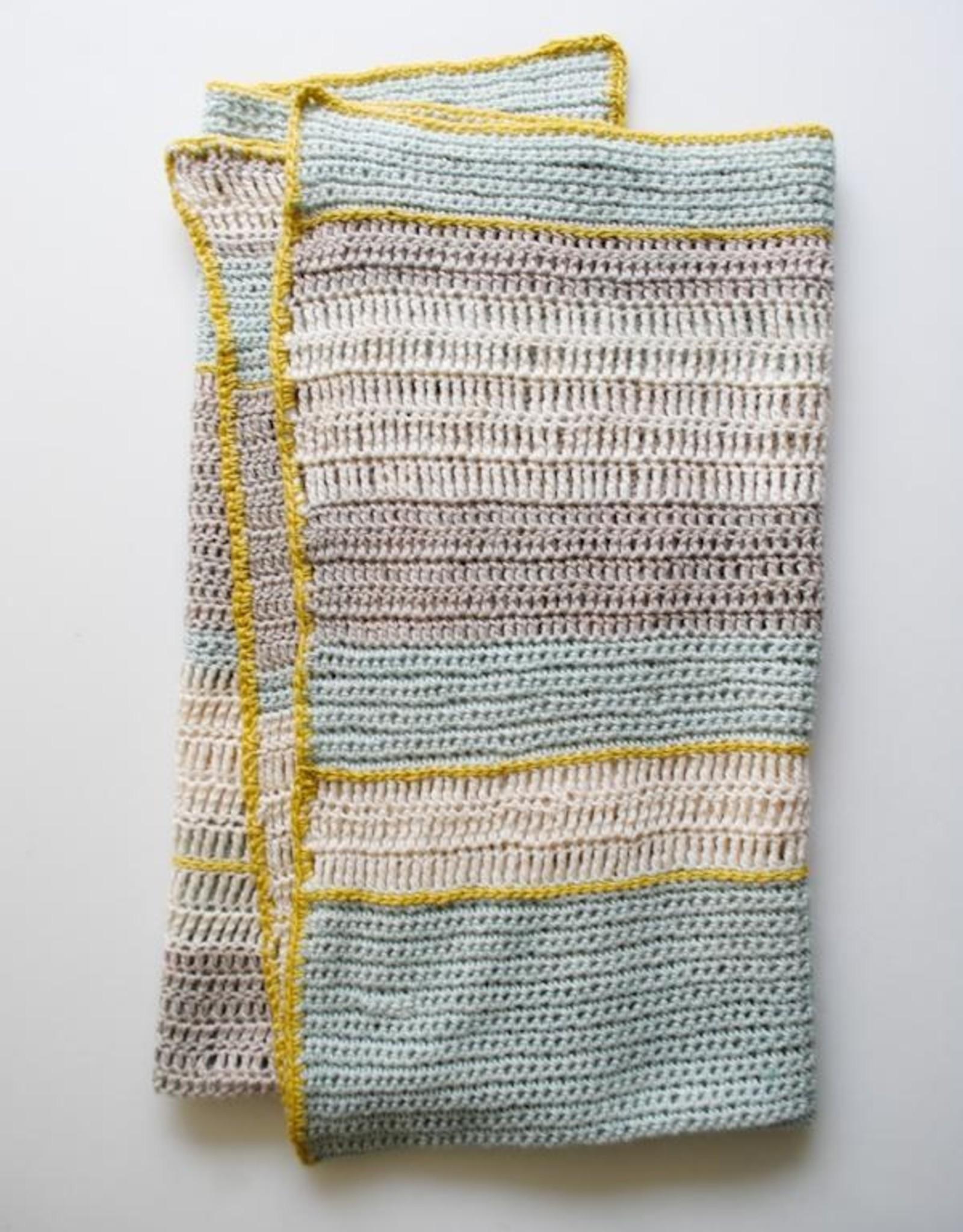 Manos Del Uruguay Cochecito Crochet Baby Blanket Pattern in Serena