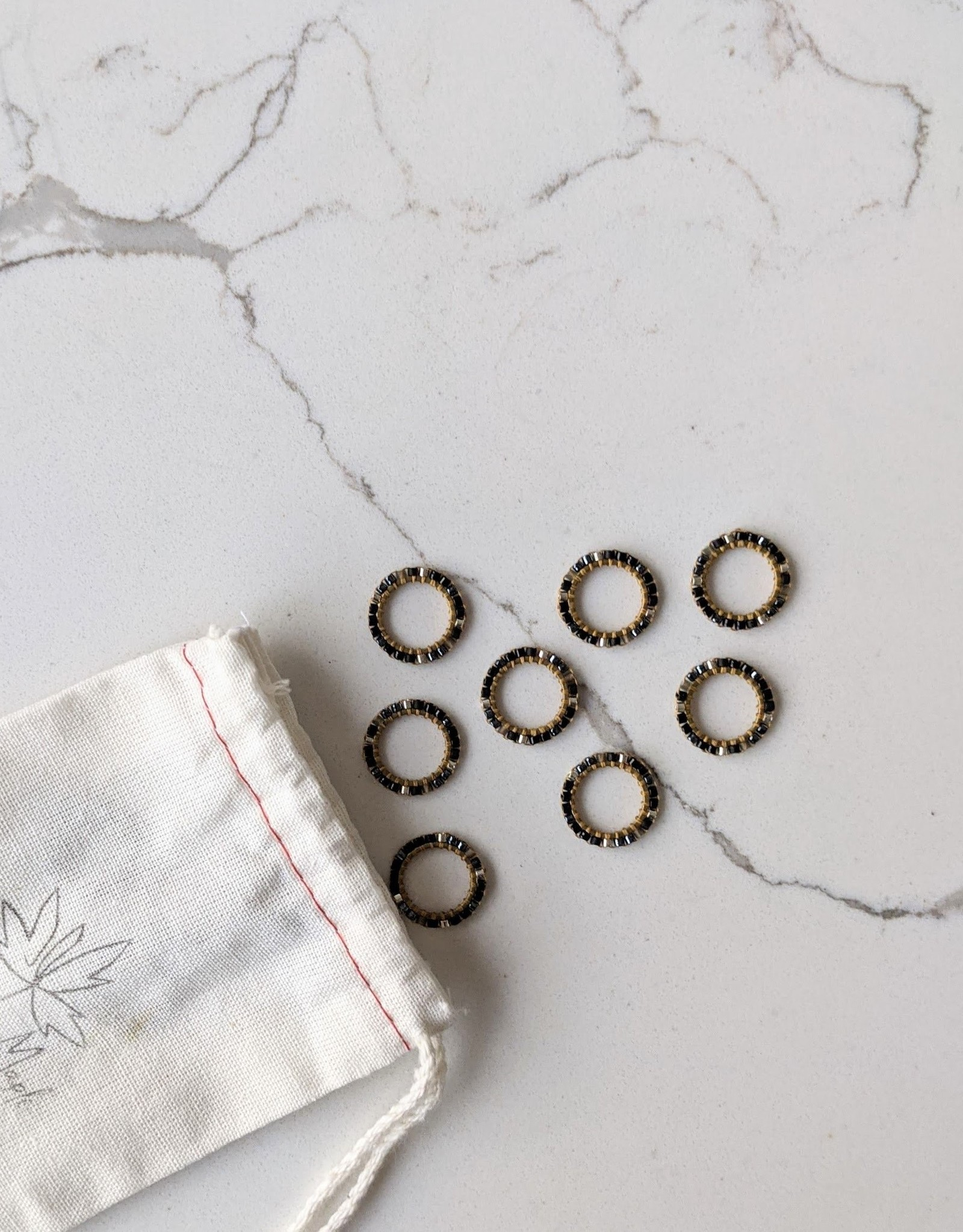 Thread and Maple Thread & Maple Bead Ring Stitch Markers