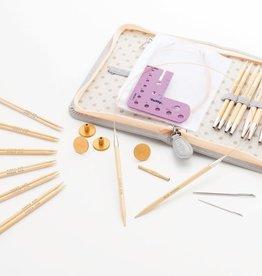 Tulip Tulip CarryC Long Interchangeable Bamboo Knitting Needle Set
