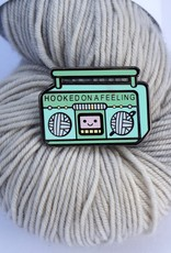 Nerd Bird Makery Mint Boombox Pin