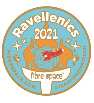 fibre space Team fibre space Ravellenic Enamel Pin