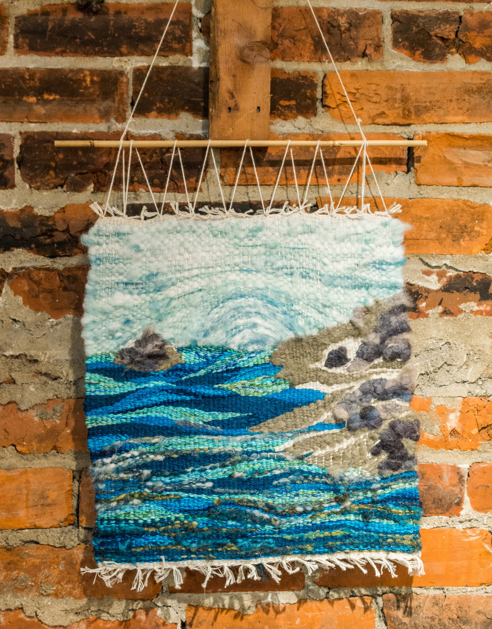 fibre space Introduction to Tapestry Weaving