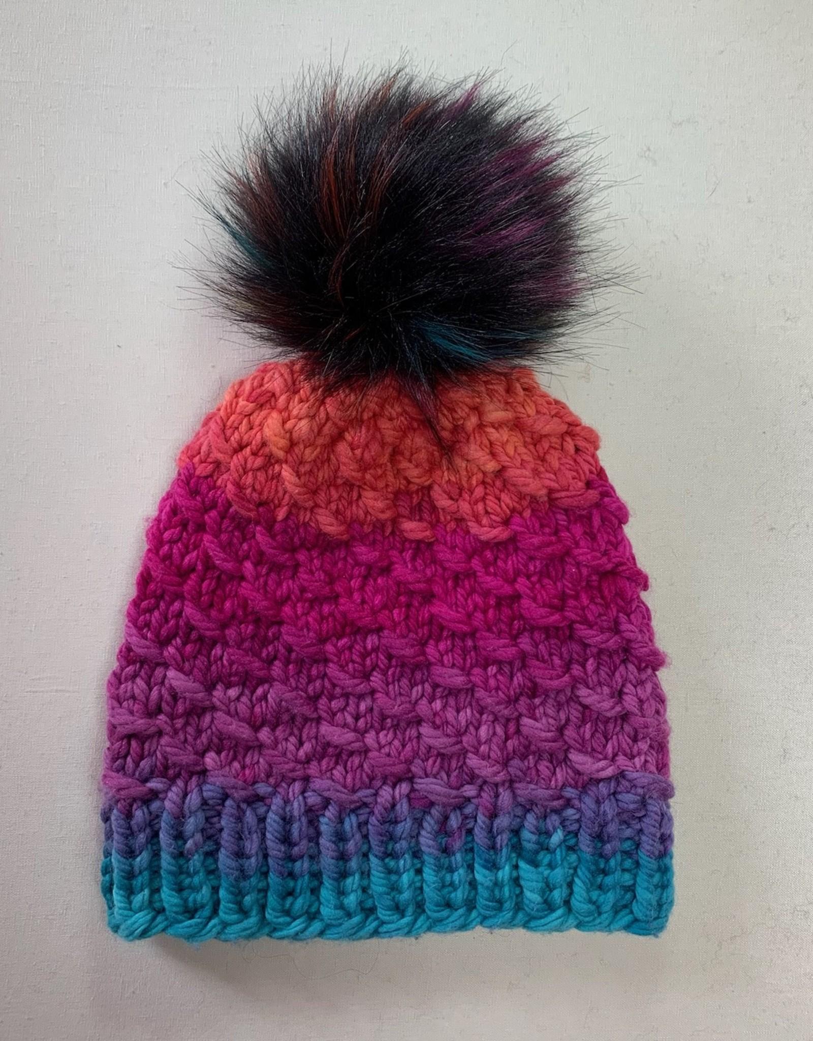 Freia Fibers Custom Plush Pom Hat Kit