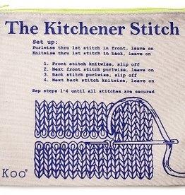 Skacel Kitchener Stitch Zip Pouch