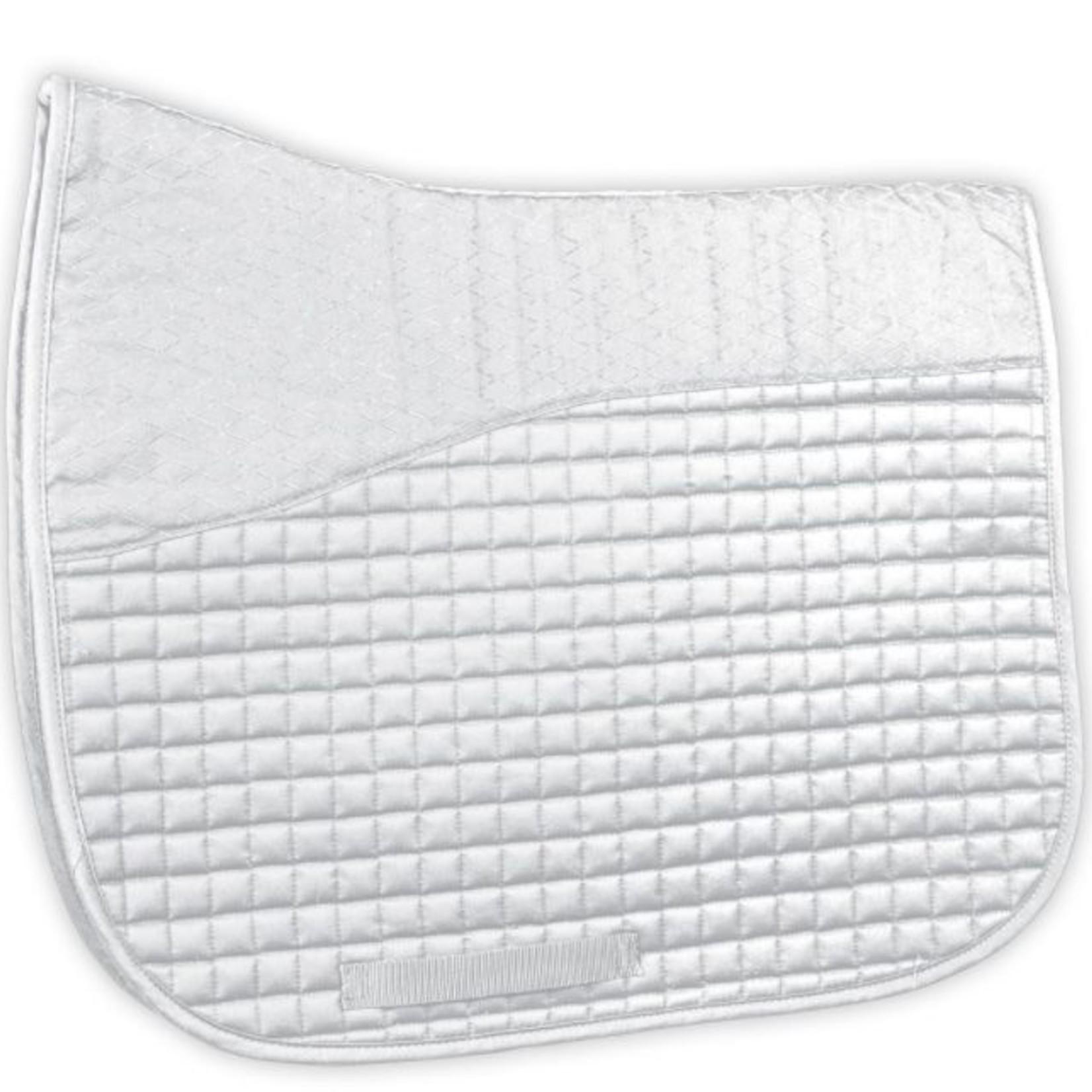 Dura-Tech D-Tech Dressage Pad w/ Anti-Slip Top - White