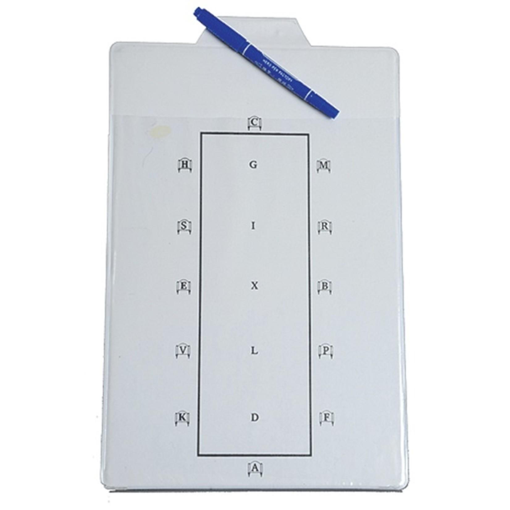 Dressage Pattern Board